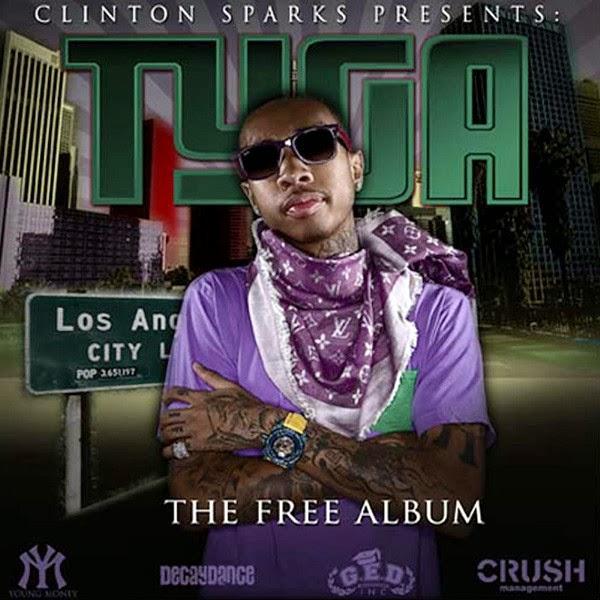 Tyga & Clinton Sparks - The Free Album  Cover