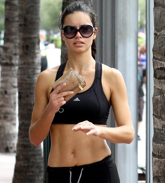 Adriana Lima S Abs Models Inspiration