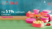 Tupperware Extra 51% Cashback