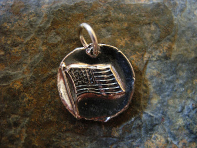 Wax seal charm from Gilded Lilly.