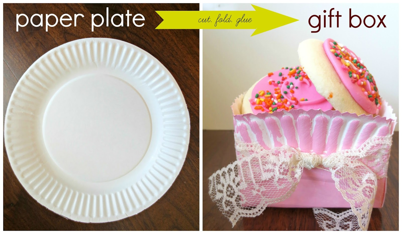 DIY Gift Box Using a Paper Plate!  sc 1 st  Sweet Charli & DIY Gift Box Using a Paper Plate! - Sweet Charli
