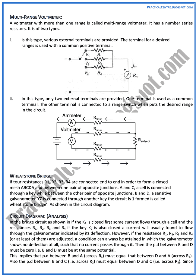 electrical-measuring-instruments-theory-notes-physics-12th