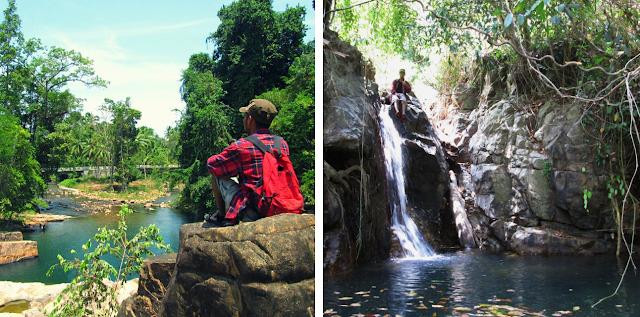 Air Terjun Kalimat - Wisata Pulau Taliabu (Provinsi Maluku Utara)