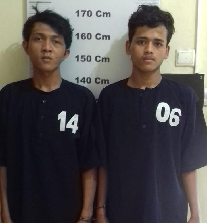 Dua Pelaku Perampok Spesialis HP Masih Remaja Diamankan Tim Pegasus Polsek Helvetia