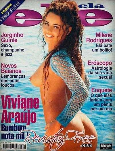 Revista Ele Ela - Viviane Araújo - Novembro 1997