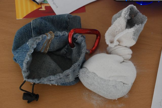 Homemade Chalk Bag For Climbing