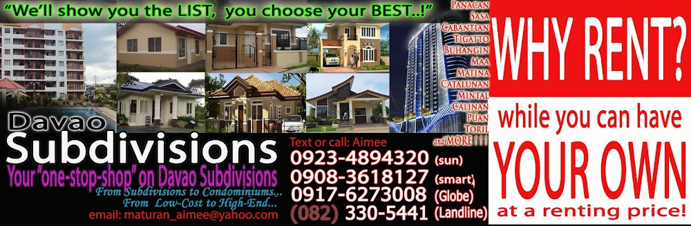 Low Cost Davao Subdivisions