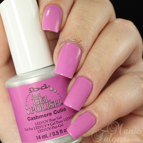 IBD Just Gel Polish Cashmere Cutie Swatch