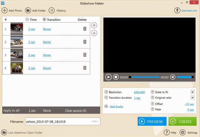 IceCream Slideshow Maker v1.12 Full Free Download