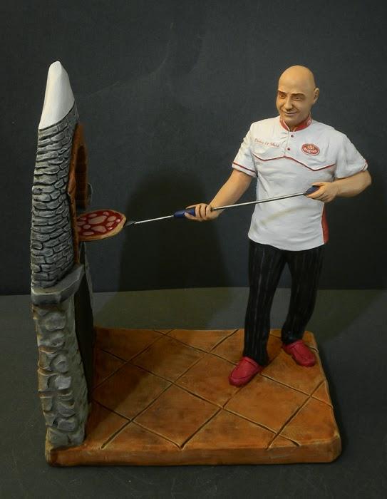 cake topper artistici oggetti fatti a mano statuette personalizzate orme megiche