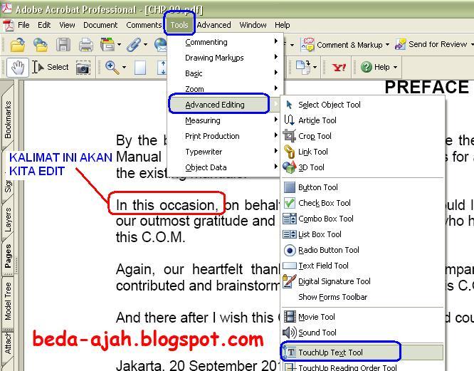 how to put text in pdf acrobat reader typewriter
