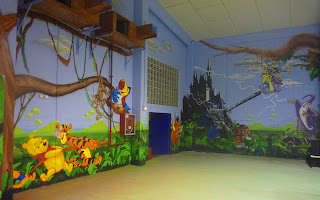 Decoración parque infantil Sant Fruitós
