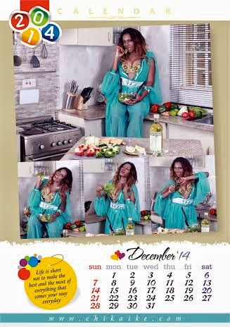 CHECK OUT CHIKA IKE'S 2014 CALENDAR