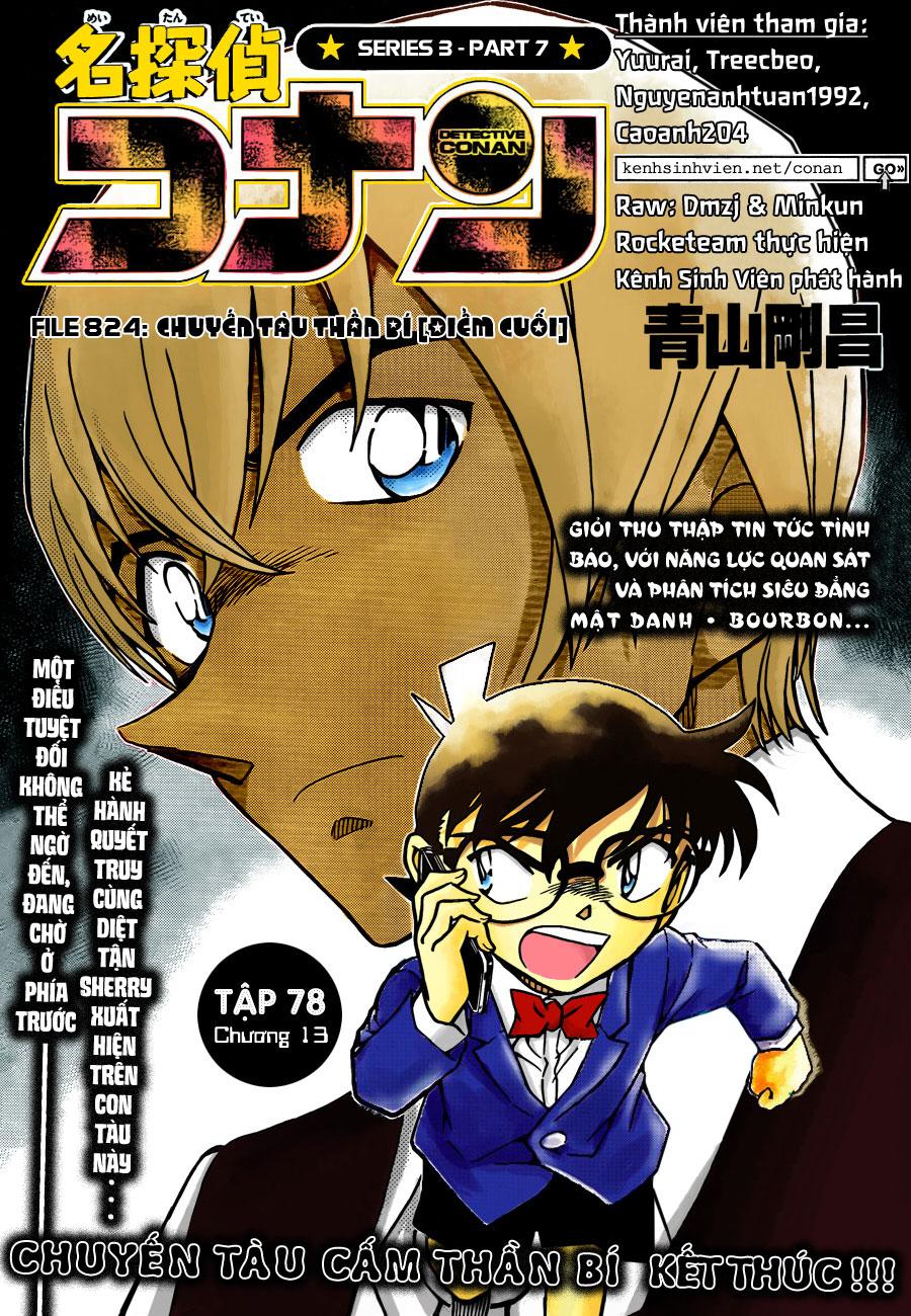 Thám Tử Lừng Danh Conan - Chapter 824 - Pic 1