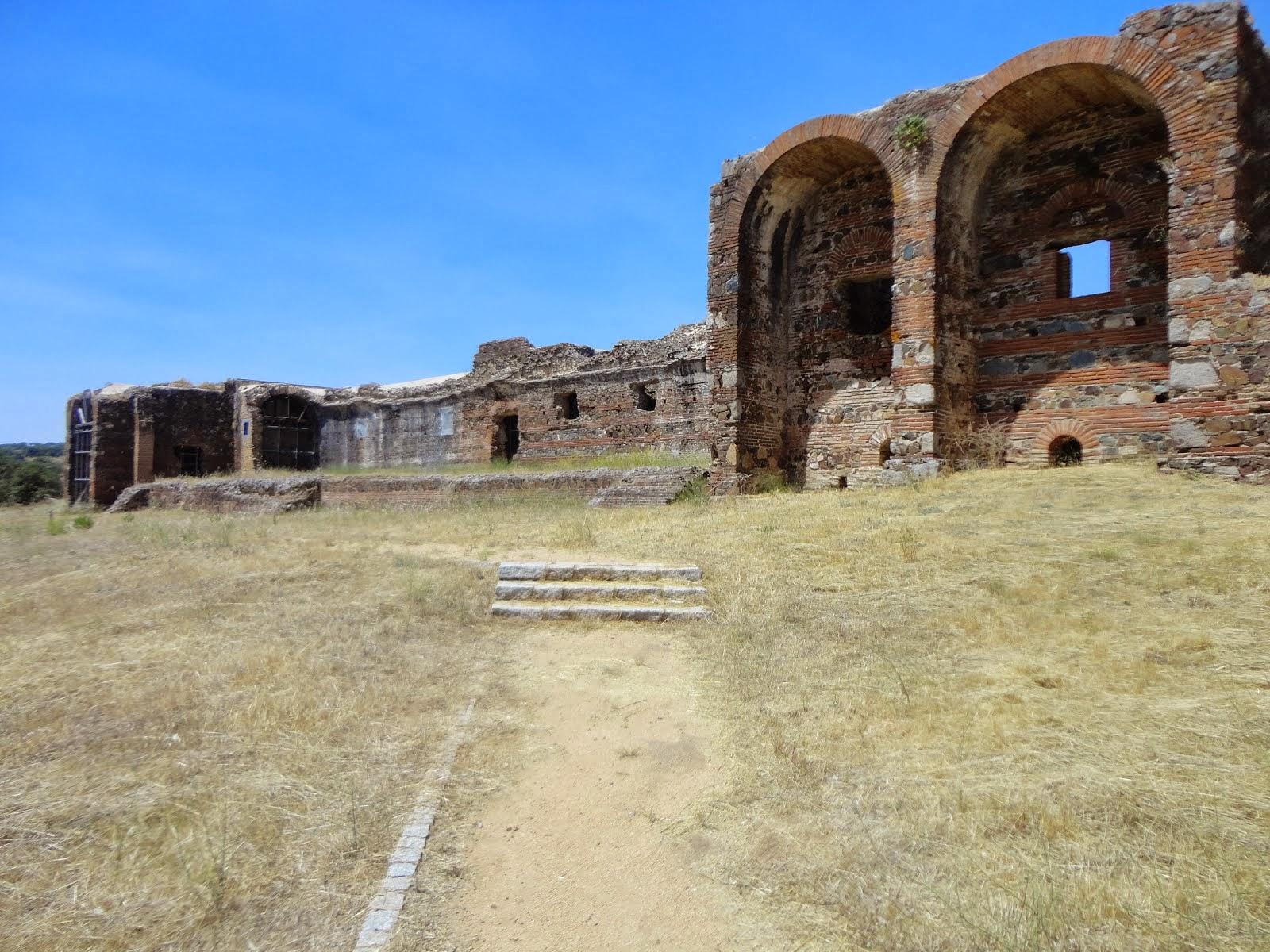 Visitem as Ruínas Romanas de São Cucufate (Monumento Nacional)