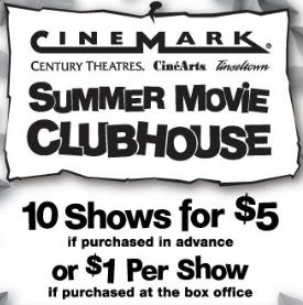 katy couponers cinemark 1 summer movies or prepay 5