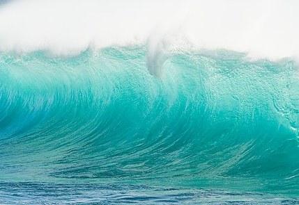 Manualidades decoraci n pintura cuadro ikea olas de mar - Cuadros y laminas ikea ...