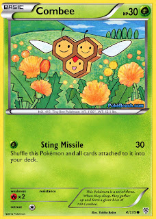Combee Plasma Storm Pokemon Card