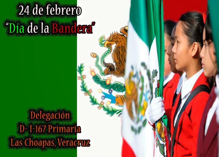 El 24 de Febrero se celebra el Día de la Bandera de México , día en
