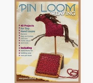 Pin Loom Weaving - 40 Projects for Tiny Hand Looms  by Margaret Stump