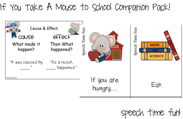 Printables If You Take A Mouse To School Worksheets if you take a mouse to school companion pack comparecontrast worksheet venn diagram real vs the in story