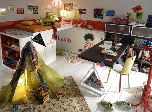 Dormitorio juvenil lagrama - Muebles originales madrid ...
