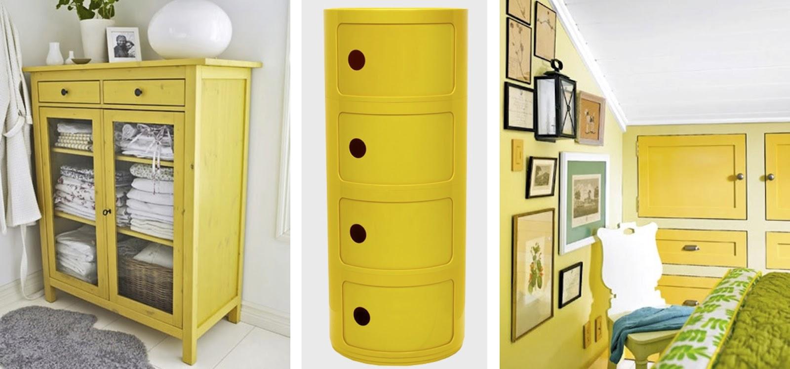 Ideas De Habitaciones Juveniles Ikea ~ BLACK WHITE YELLOW } Yellow Dressers