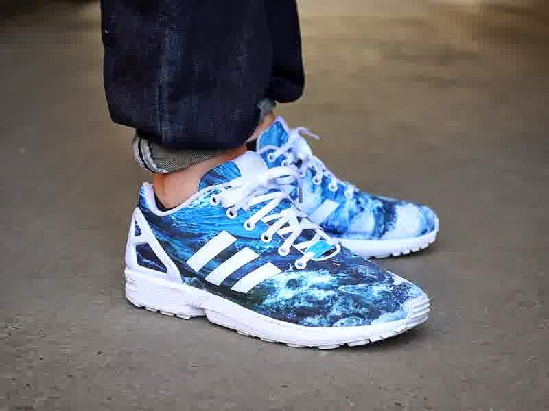 scarpe adidas zx flux ocean