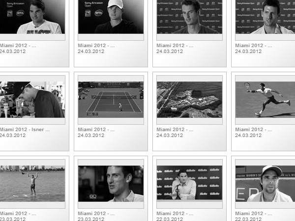 Miami Tennis 2012 Match Highlights in the Sony Ericsson Open
