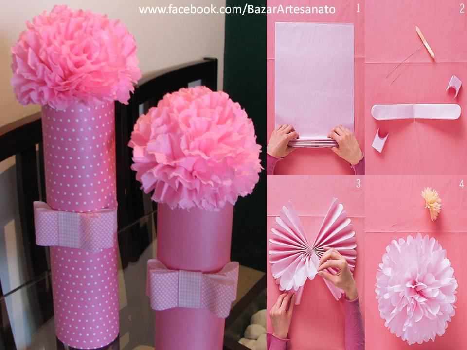 Papel: adornos, flores, mariposas y hasta vestidos ...