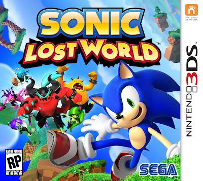 Sonic Lost World Nintendo 3DS Box Art
