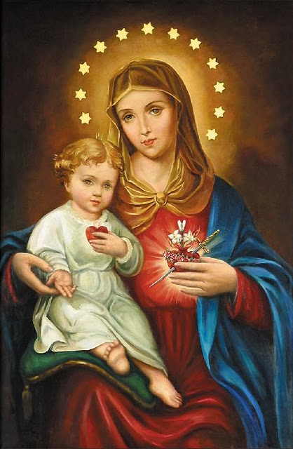 Virgin Mary Catholic Immaculate heart of mary,