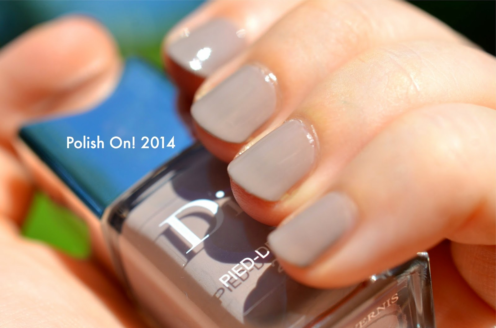 Dior Fall 2014 Pied-de-Poule Swatches, Photos and Review   Polish On!