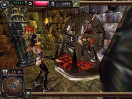 Two mistresses having fun in Dungeon Keeper 2