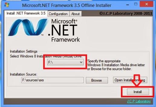 Cara Install Microsoft Net Framework 35 Offline Di Windows 8 | Apps ...