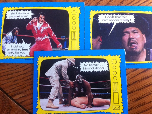 my  cents  throwback thursday wwf trading cards, Birthday card