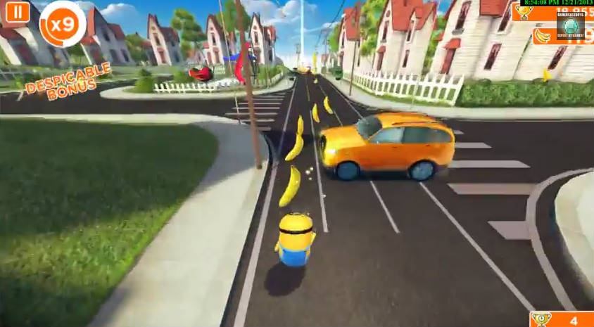 Minion Rush Game Features