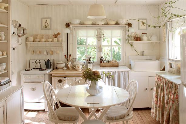 decoracao cozinha de praia:Shabby Chic Kitchen Ideas