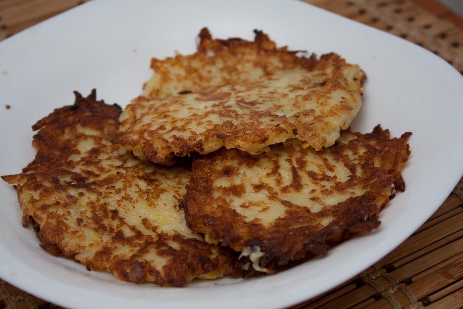Как из картофеля приготовить оладьи на