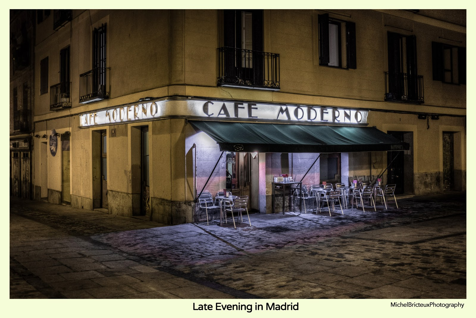 Cafe Moderno, Madrid