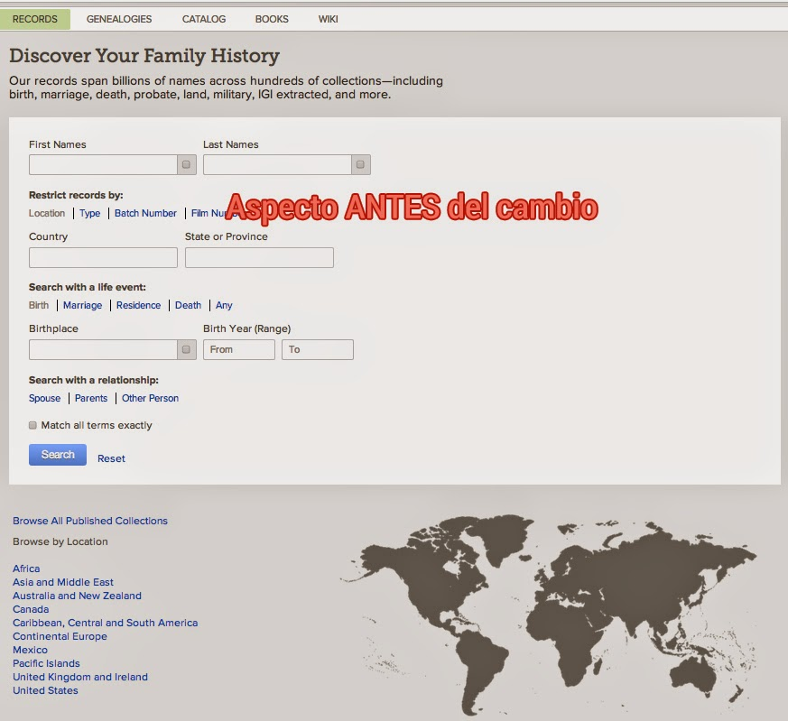 FamilySearch-search