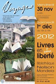 """Evénement littéraire """"Livres en Liberté"""""""