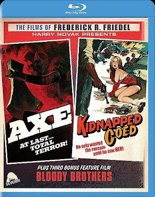 Axe and Kidnapped Coed Blu-ray