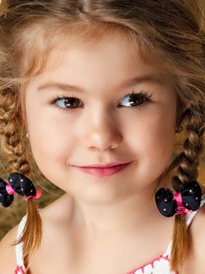 Peinados infantiles look 2014 niños