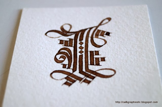 L'association Emily Calligraphy - Tatouage Lettre K Calligraphie