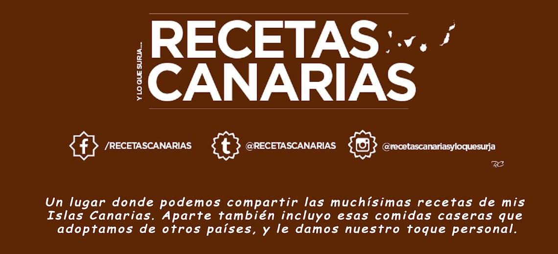 RECETAS CANARIAS, Y LO QUE SURJA...