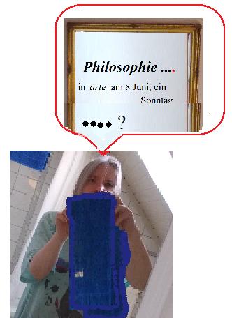 Als Eine Art Von Vorwort Möchte Ich Im Erzählen Mit Einbinden, Dass Der  (...Philosophie...) Spiegel Nun Keine Allein Assoziativ Sinnbildliche Idee  Von Mir ...