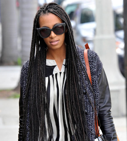 solange knowles box braids