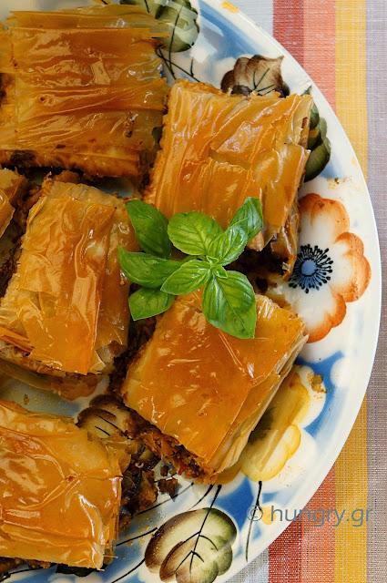Eggplant & Meat Pie