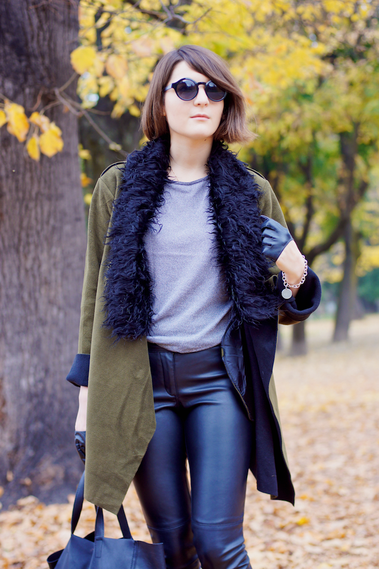 leather pants hot look